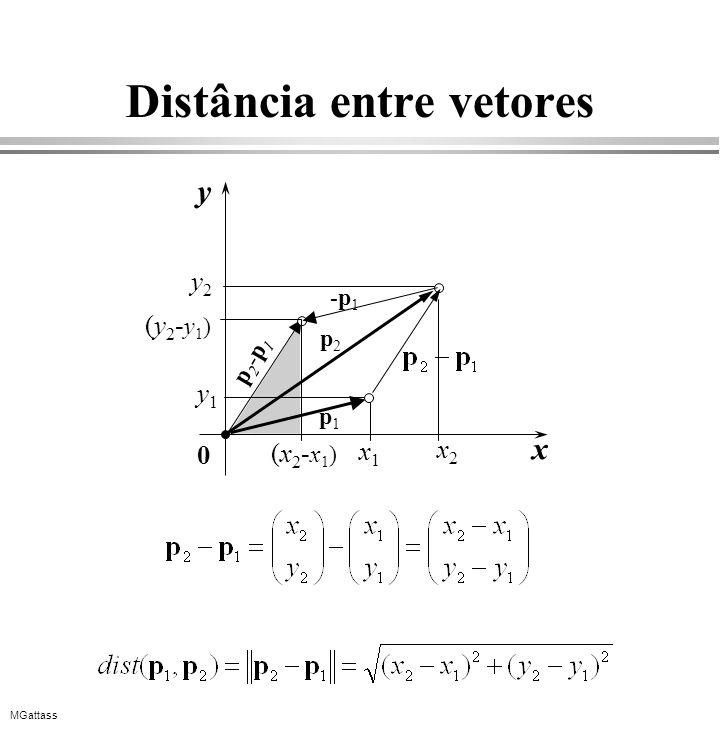 Distância entre vetores
