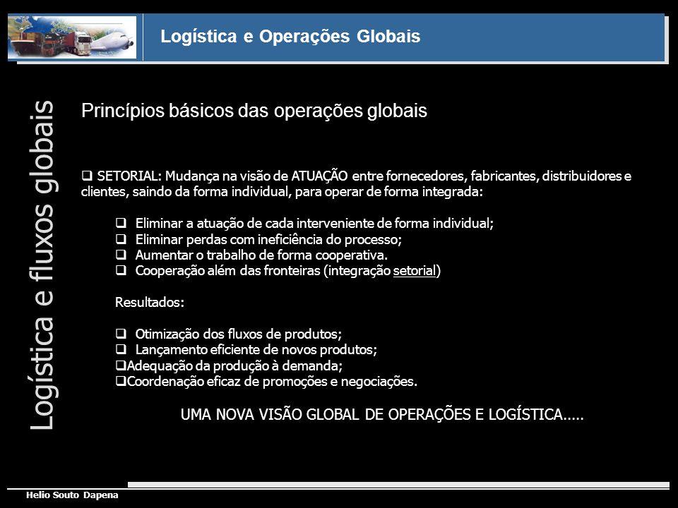 UMA NOVA VISÃO GLOBAL DE OPERAÇÕES E LOGÍSTICA.....