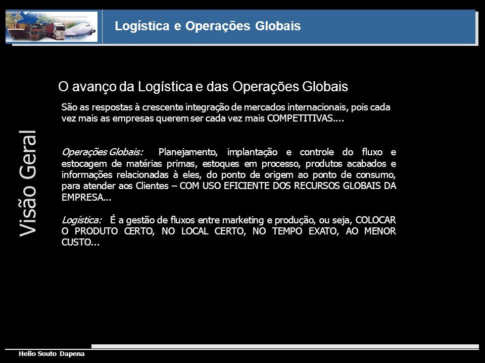 Visão Geral O avanço da Logística e das Operações Globais