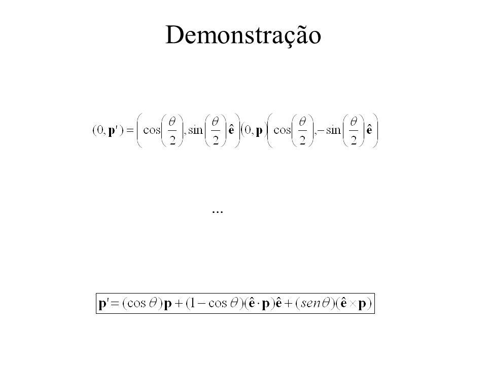 Demonstração …