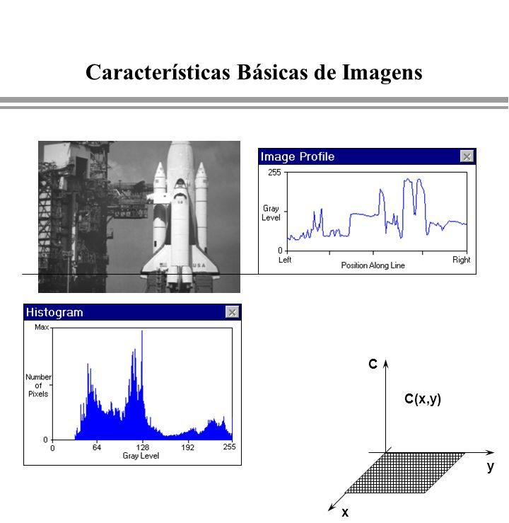 Características Básicas de Imagens