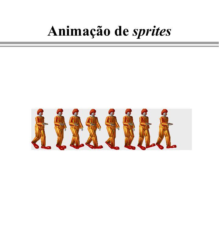 Imagens Animação de sprites Computação Gráfica - Gattass
