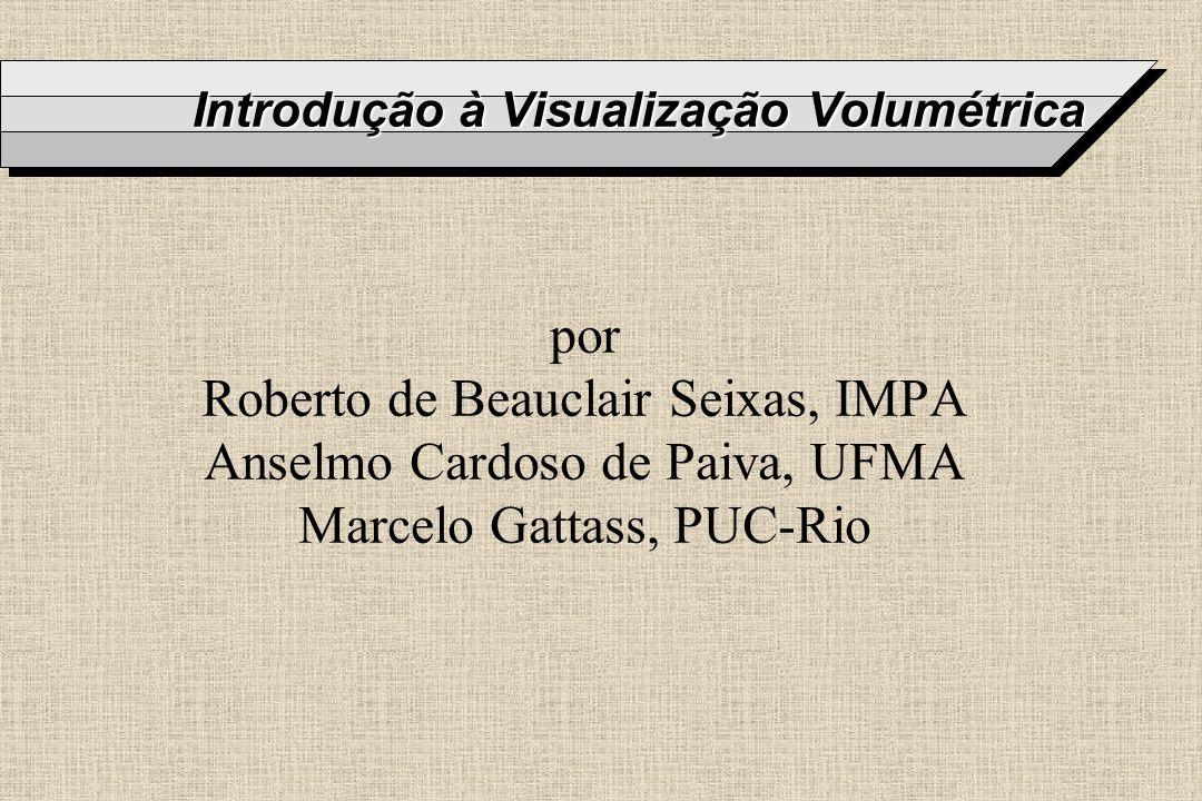 Introdução à Visualização Volumétrica