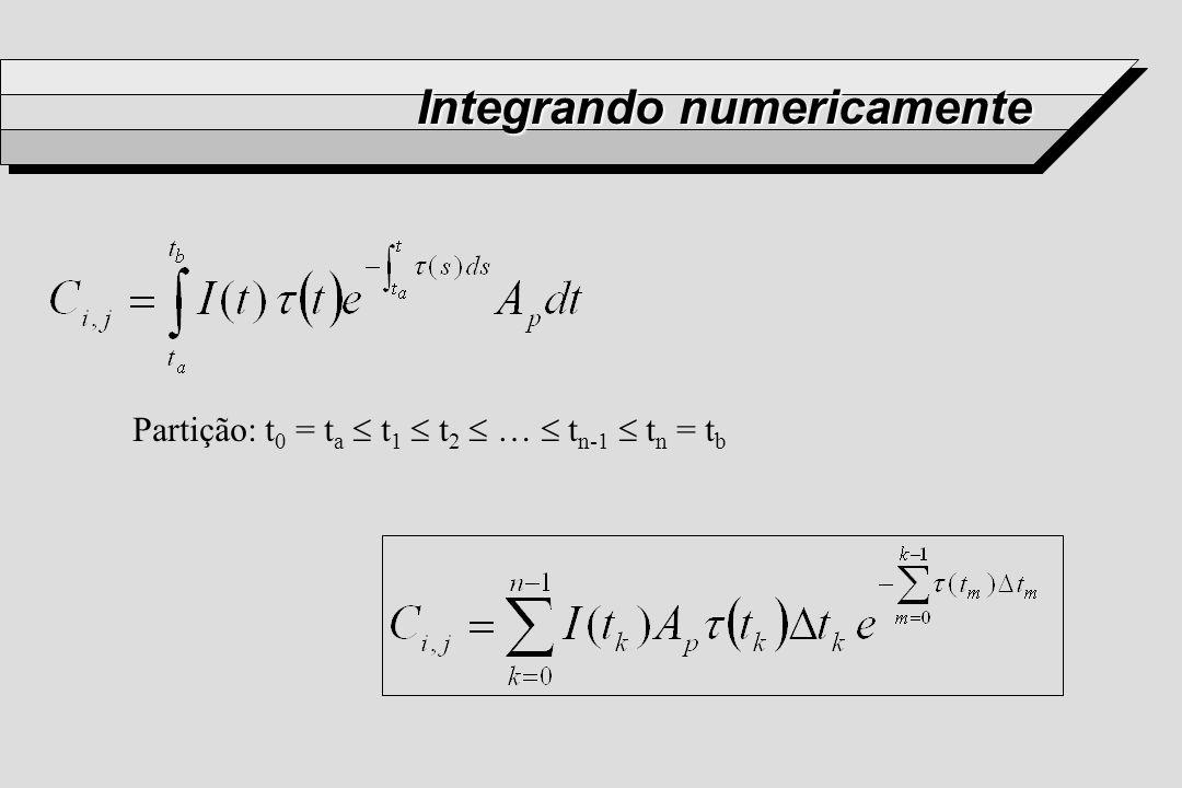 Integrando numericamente