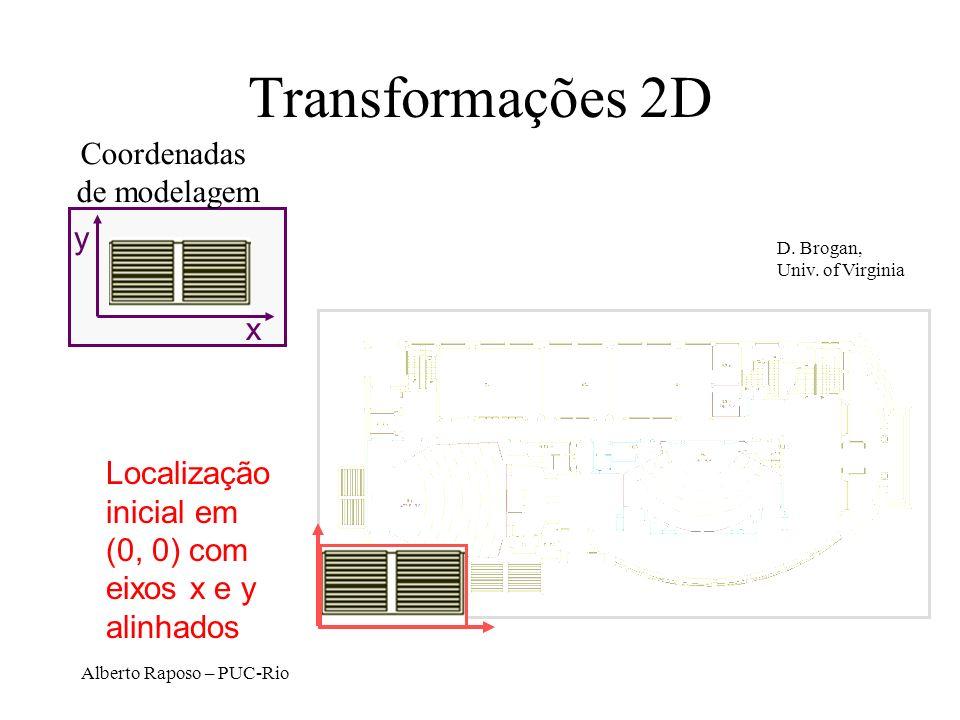 Coordenadas de modelagem