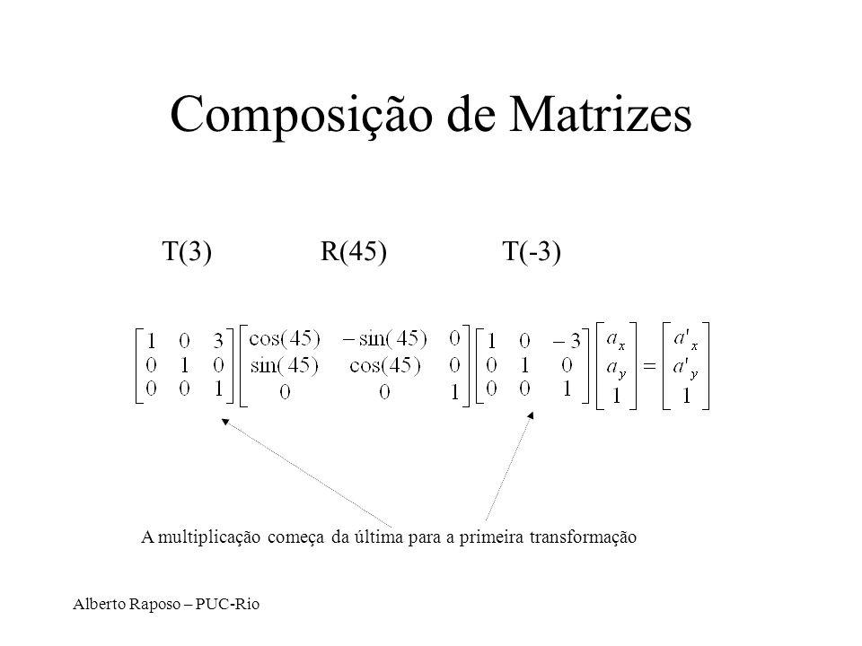 Composição de Matrizes