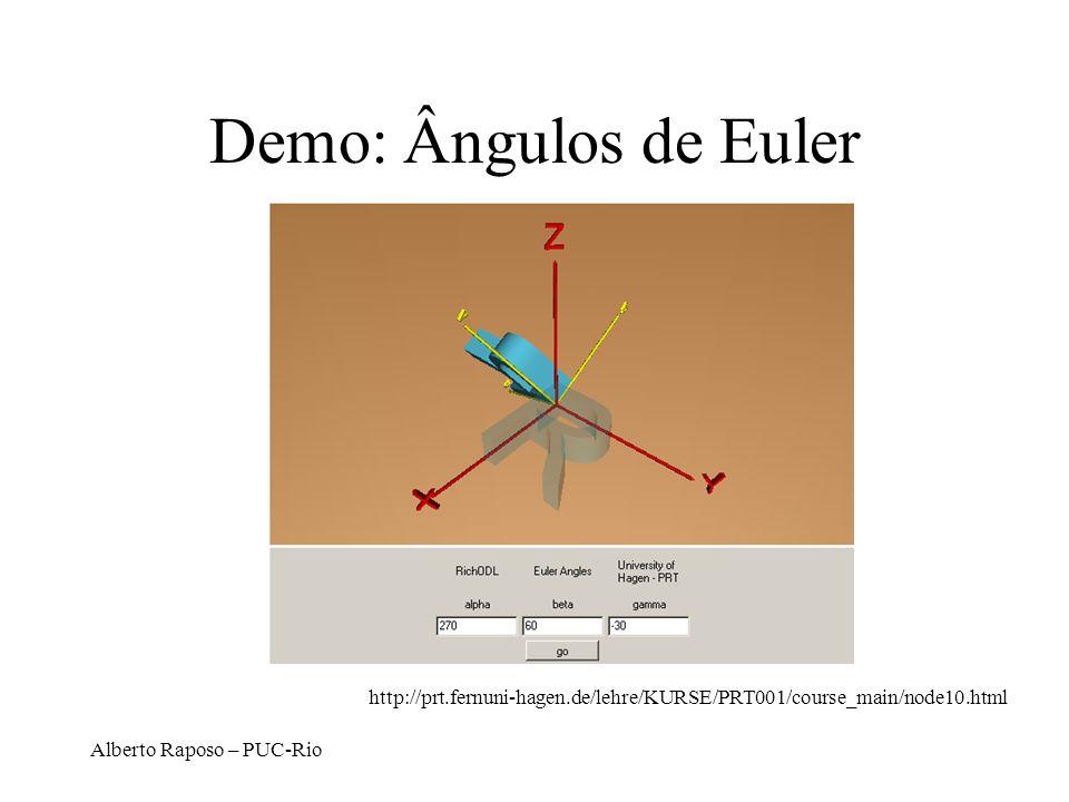 Demo: Ângulos de Euler http://prt.fernuni-hagen.de/lehre/KURSE/PRT001/course_main/node10.html.