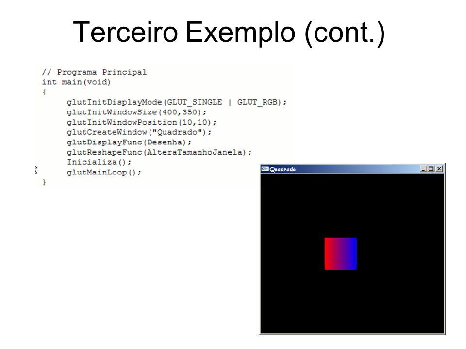 Terceiro Exemplo (cont.)