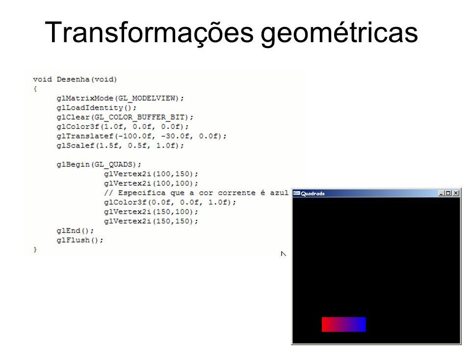 Transformações geométricas