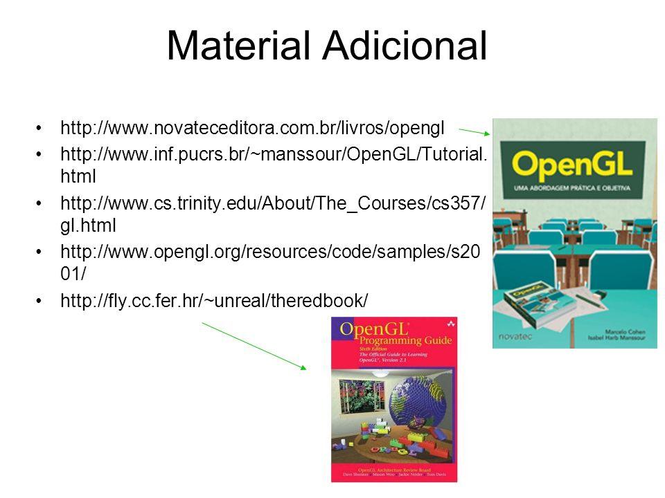 Material Adicional http://www.novateceditora.com.br/livros/opengl
