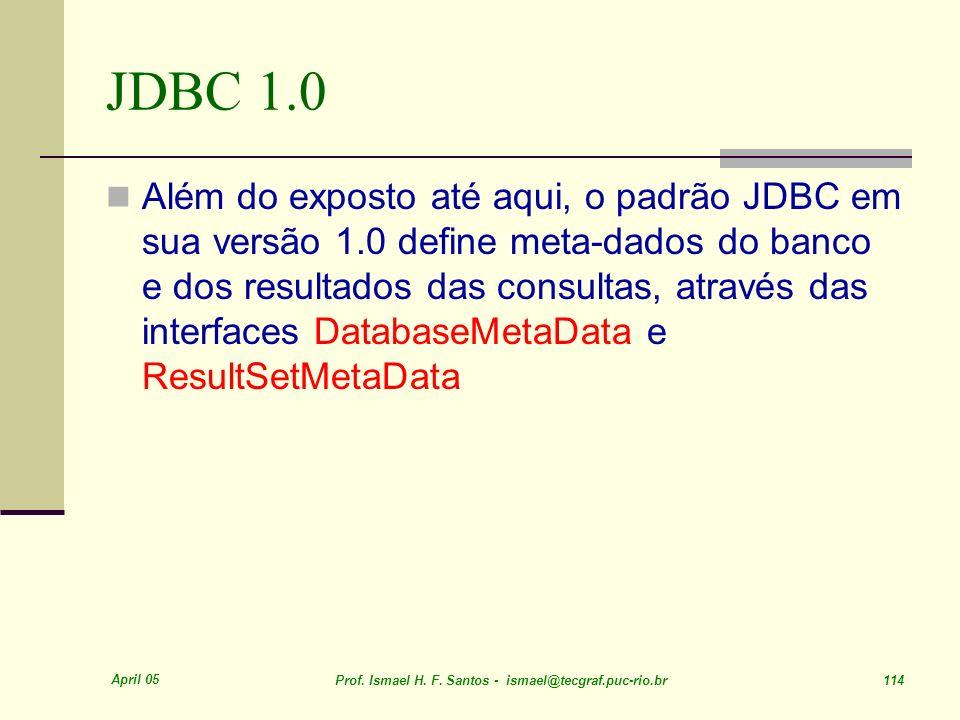 JDBC 1.0