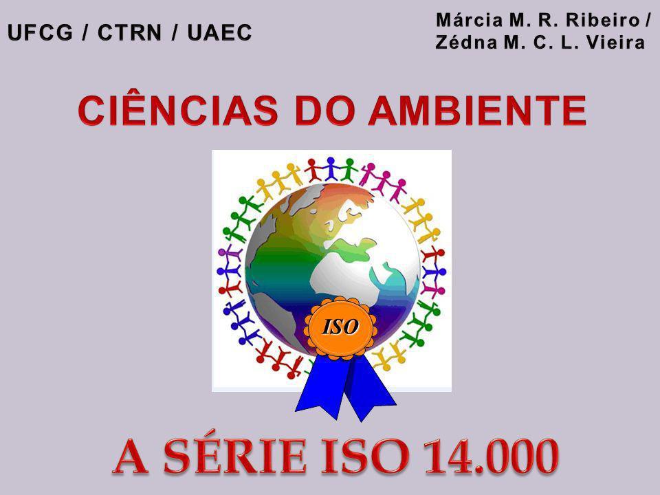 A SÉRIE ISO 14.000 CIÊNCIAS DO AMBIENTE UFCG / CTRN / UAEC ISO