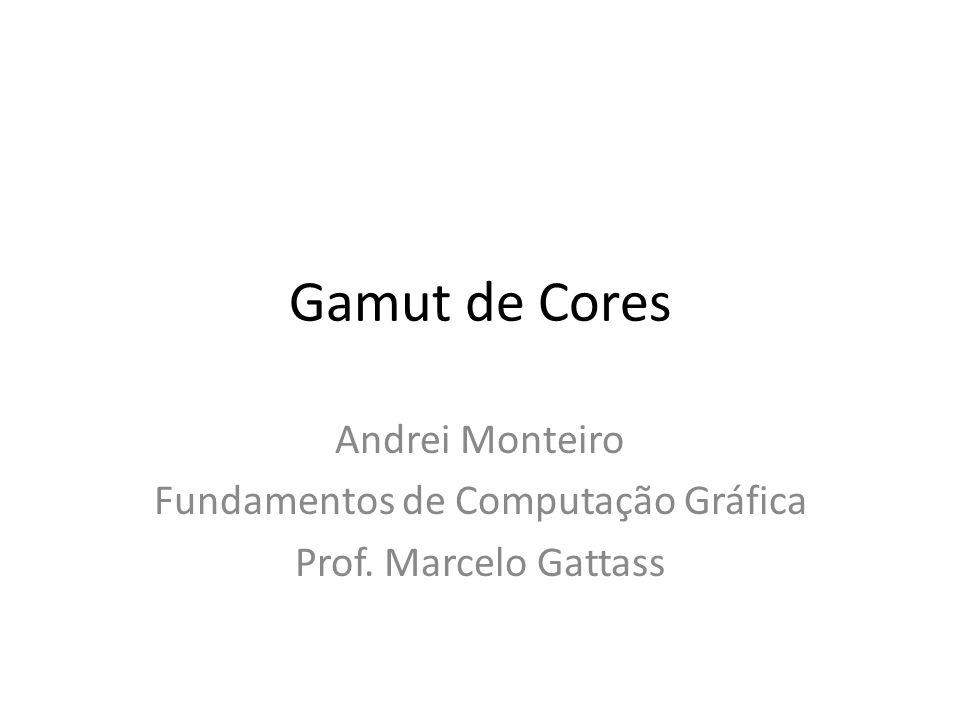 Fundamentos de Computação Gráfica