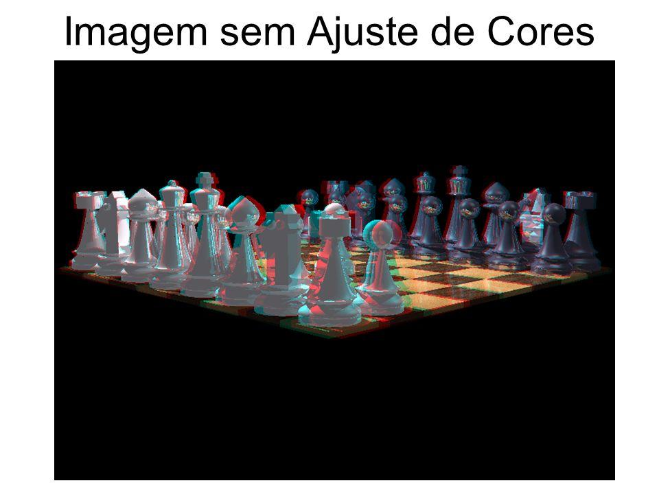 Imagem sem Ajuste de Cores