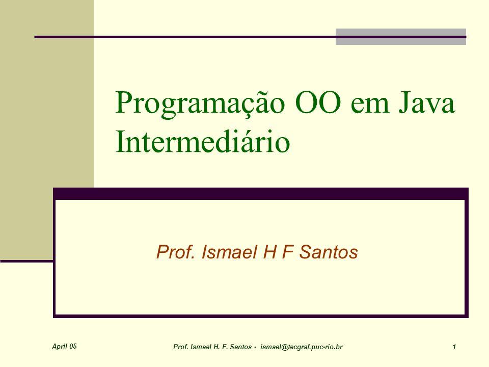 Programação OO em Java Intermediário