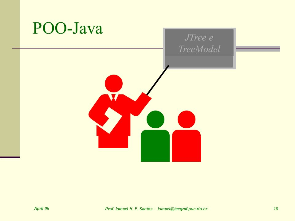 POO-Java JTree e TreeModel April 05