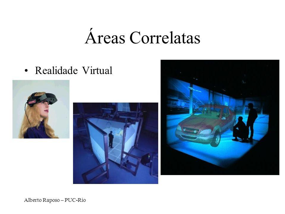 Áreas Correlatas Realidade Virtual Alberto Raposo – PUC-Rio