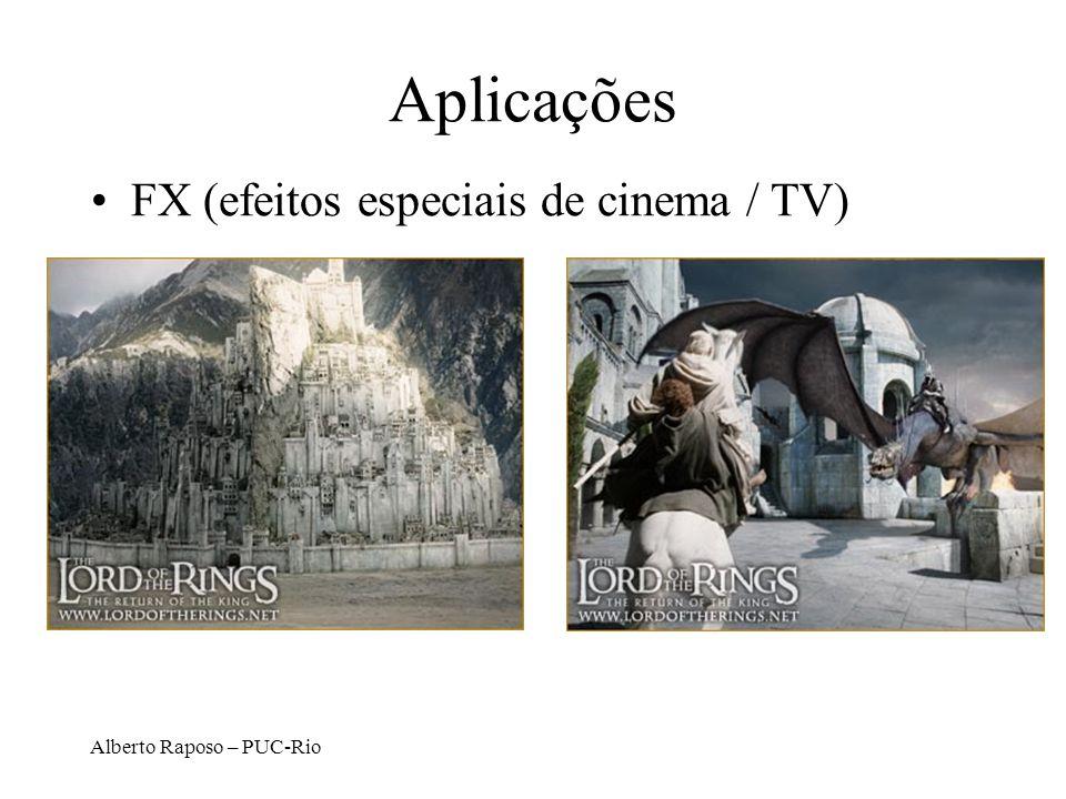 Aplicações FX (efeitos especiais de cinema / TV)