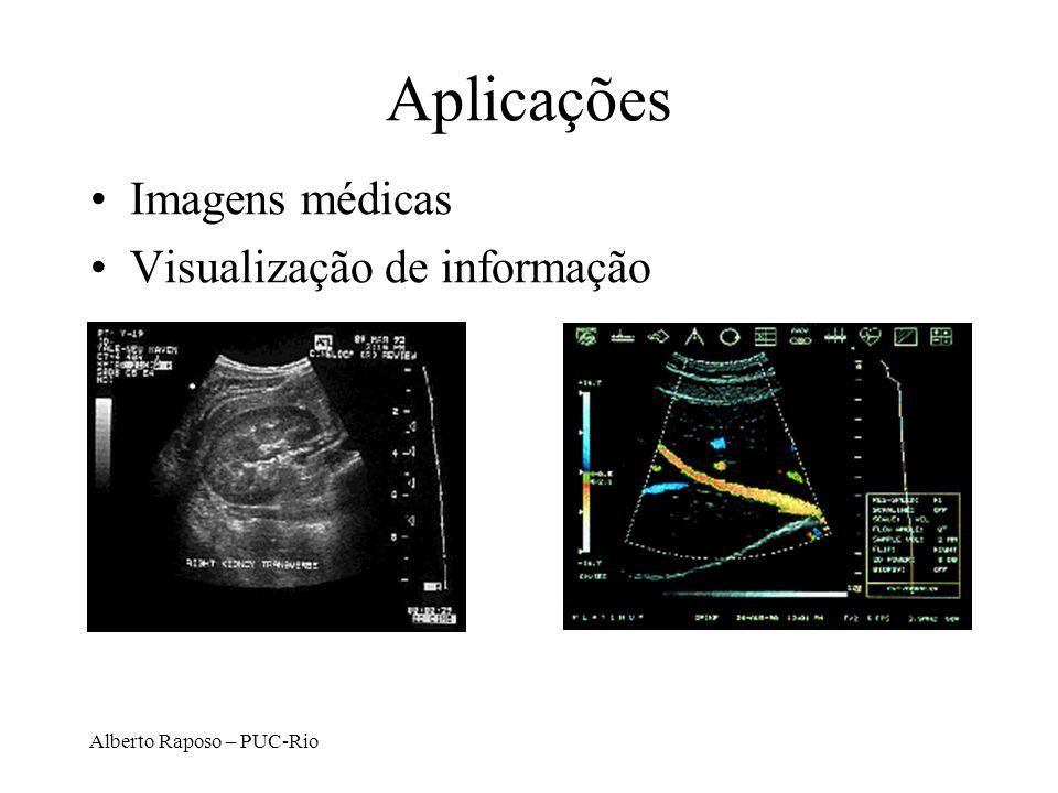 Aplicações Imagens médicas Visualização de informação