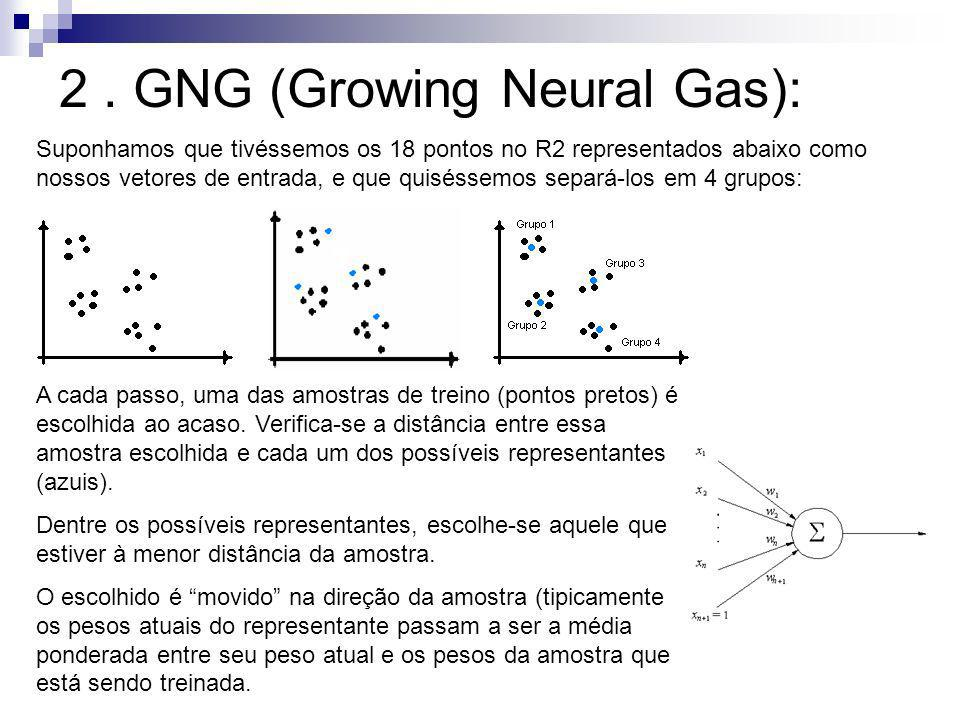 2 . GNG (Growing Neural Gas):