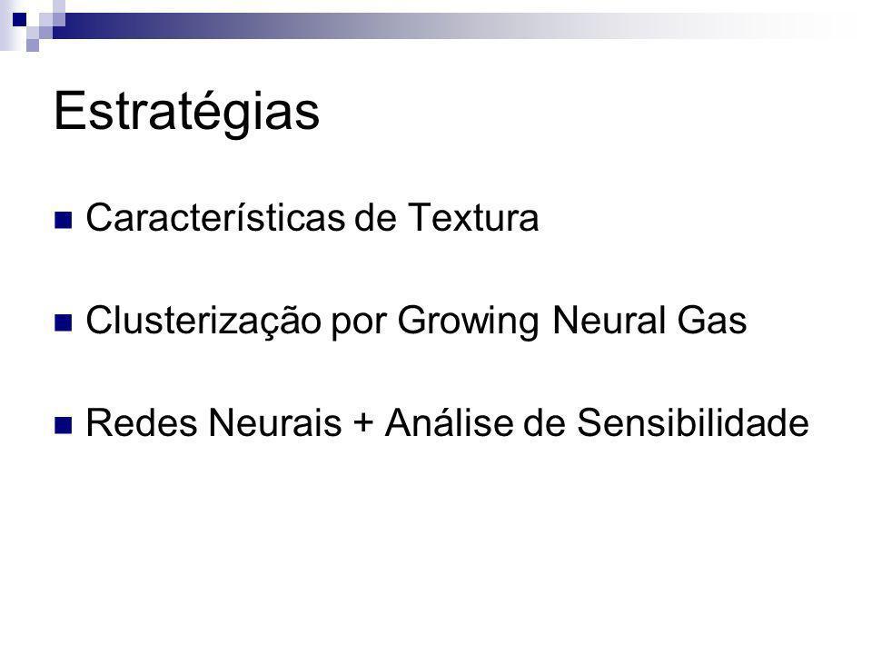 Estratégias Características de Textura