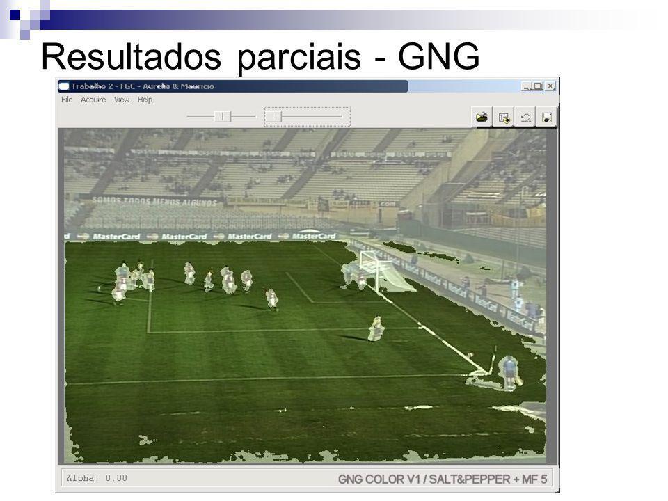 Resultados parciais - GNG