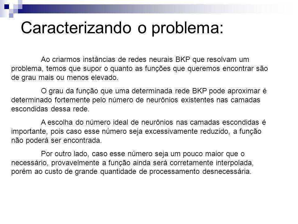 Caracterizando o problema:
