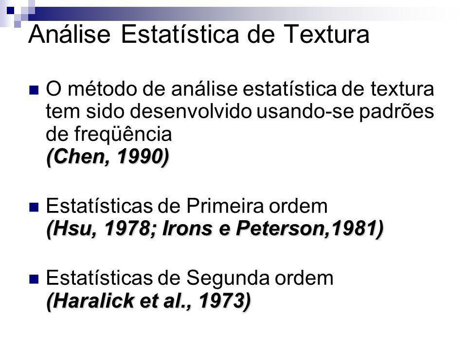Análise Estatística de Textura
