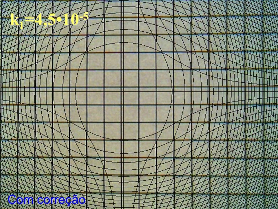 k1=4,5•10-5 Com correção