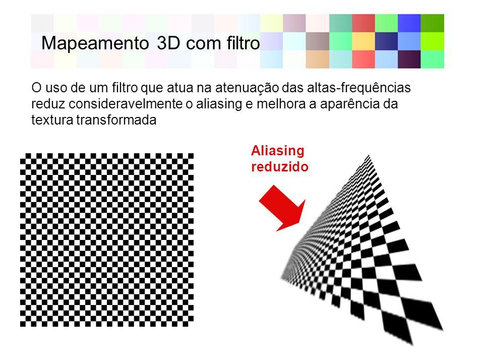 Mapeamento 3D com filtro