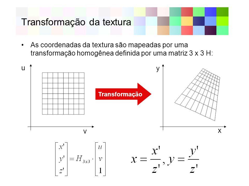 Transformação da textura