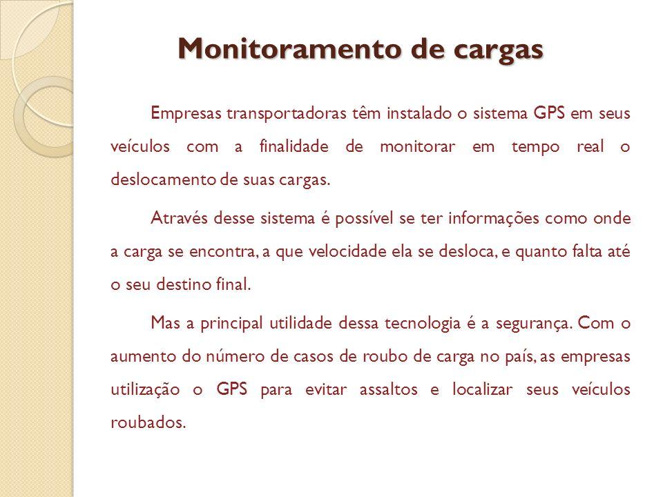 Monitoramento de cargas