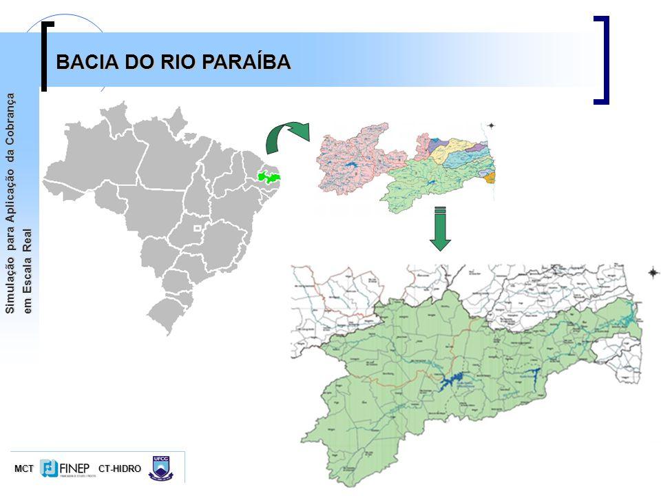 BACIA DO RIO PARAÍBA