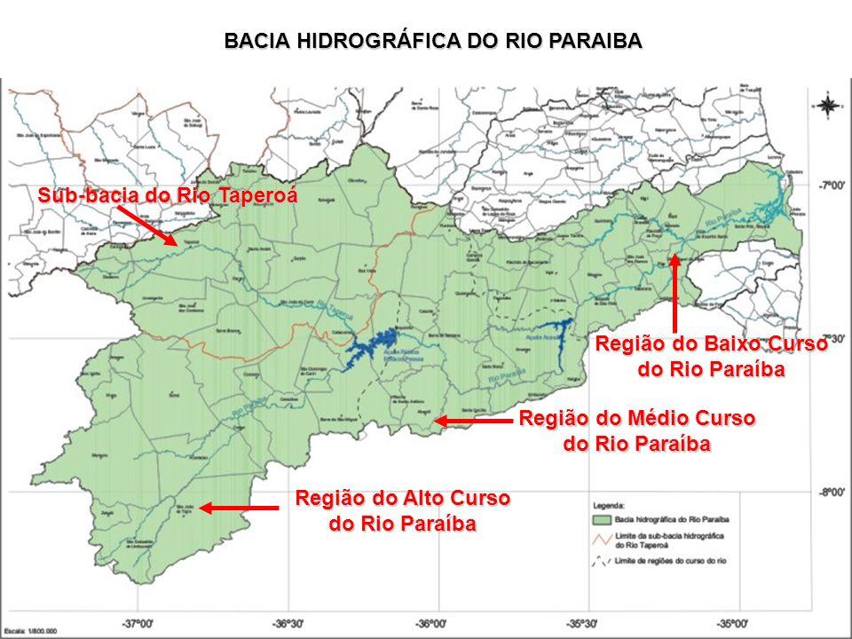 BACIA HIDROGRÁFICA DO RIO PARAIBA