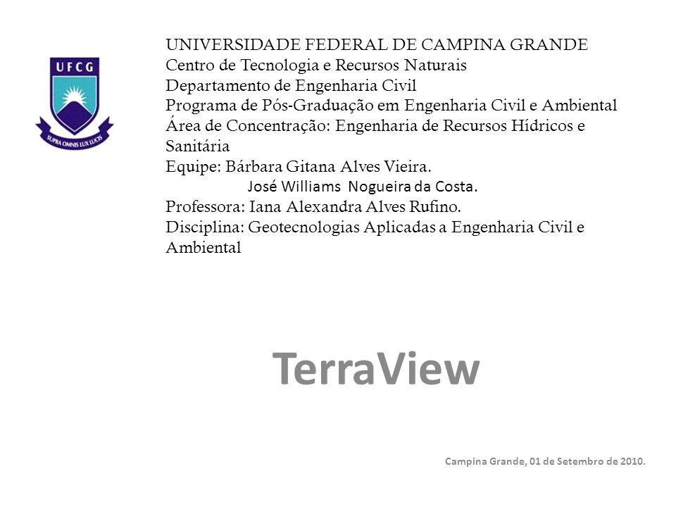 TerraView Campina Grande, 01 de Setembro de 2010.