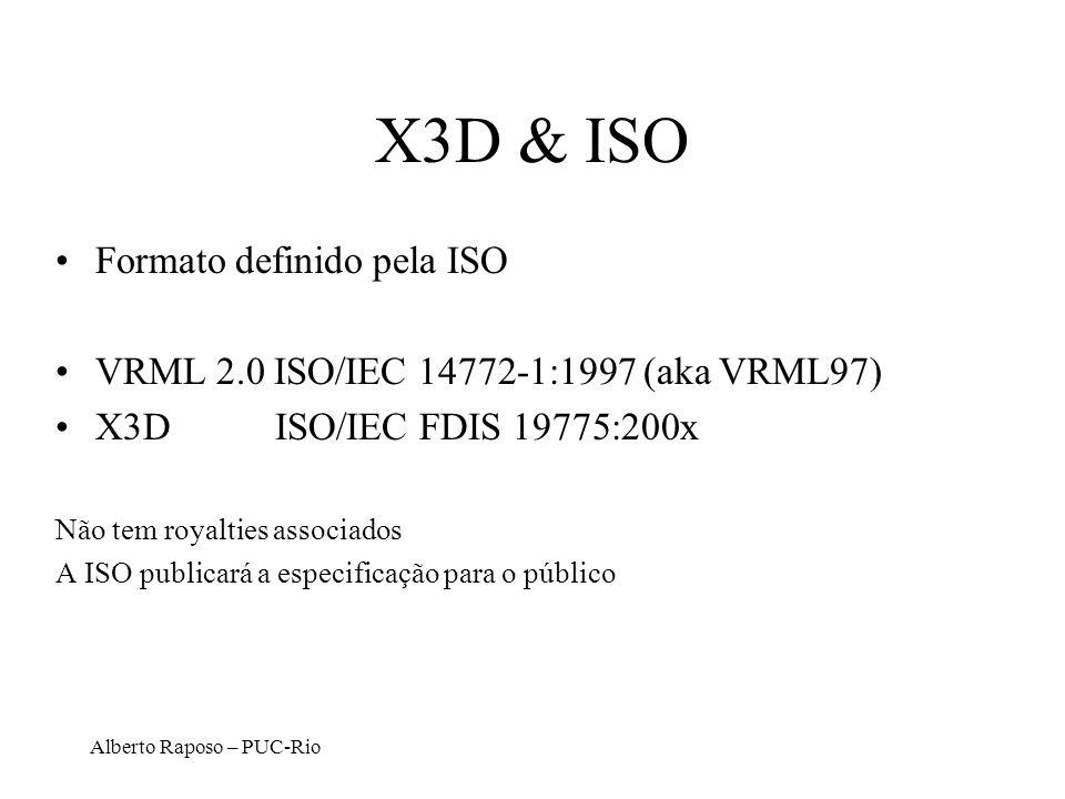 X3D & ISO Formato definido pela ISO