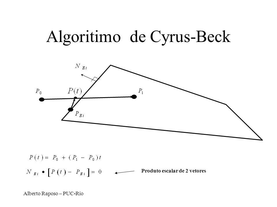 Algoritimo de Cyrus-Beck