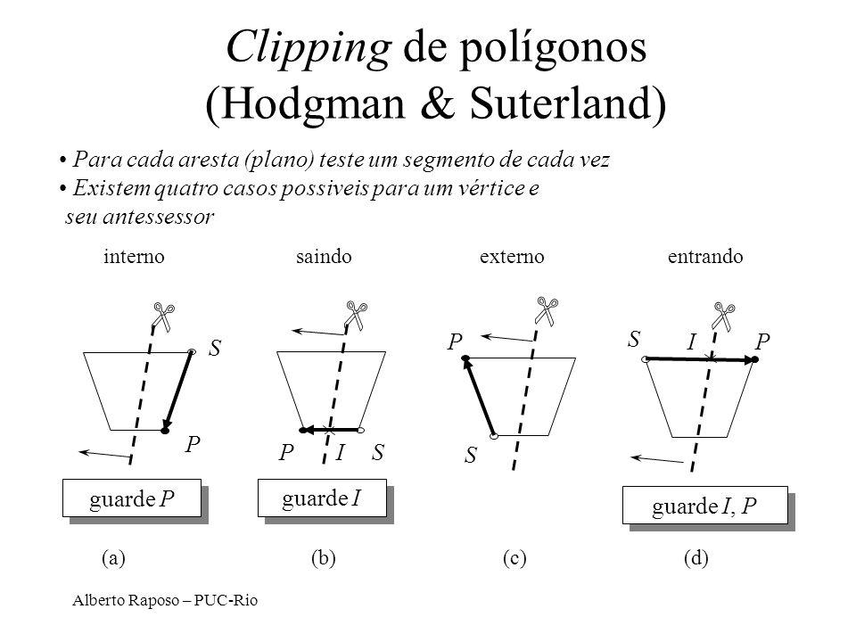 Clipping de polígonos (Hodgman & Suterland)