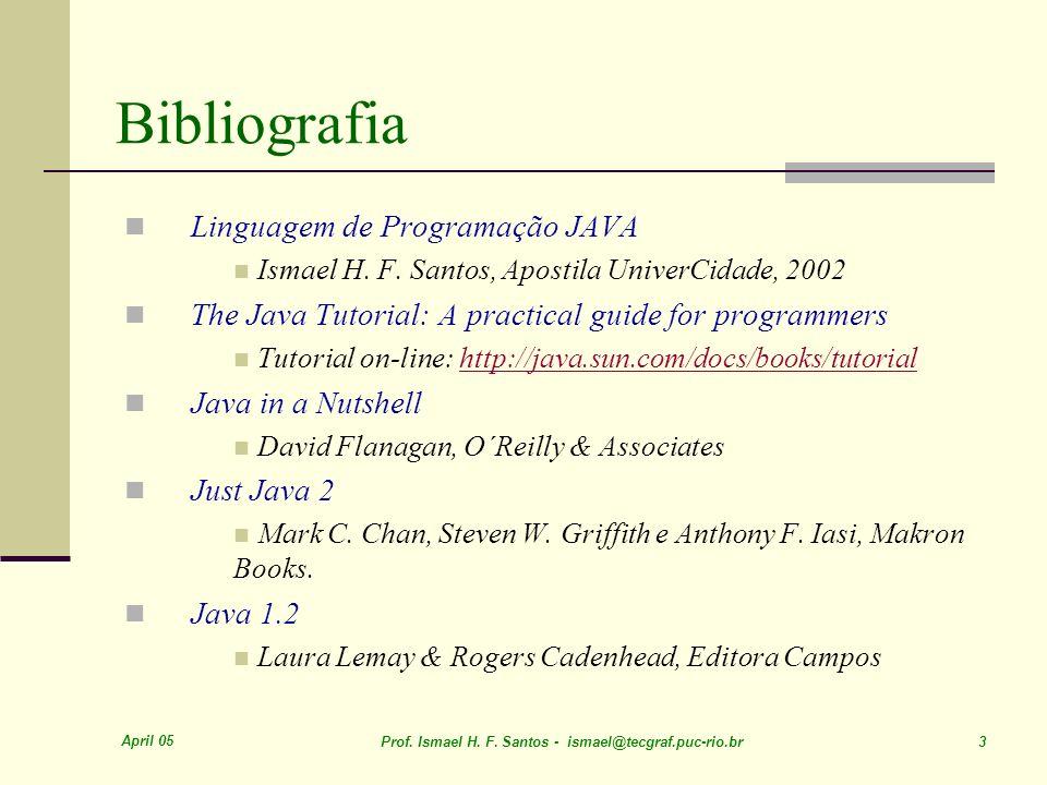 Bibliografia Linguagem de Programação JAVA
