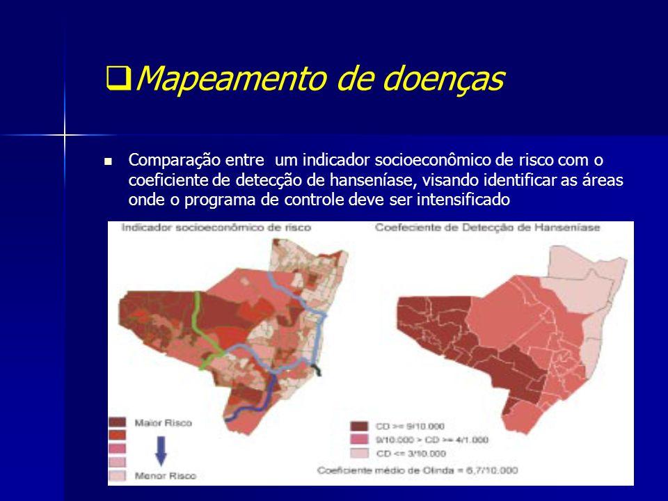 Mapeamento de doenças