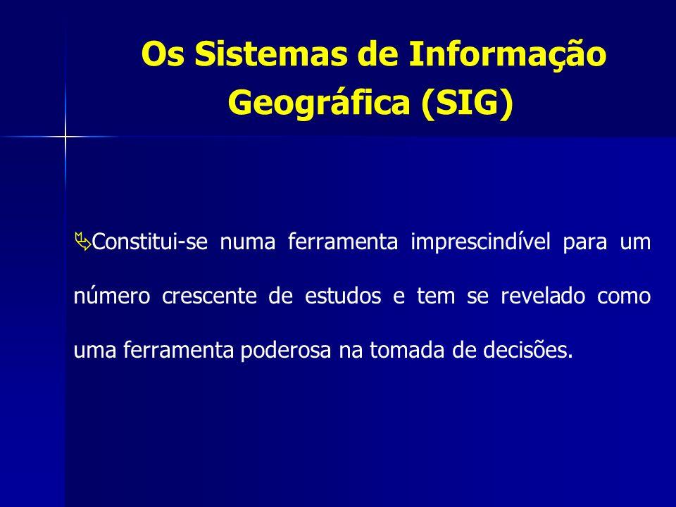 Os Sistemas de Informação Geográfica (SIG)