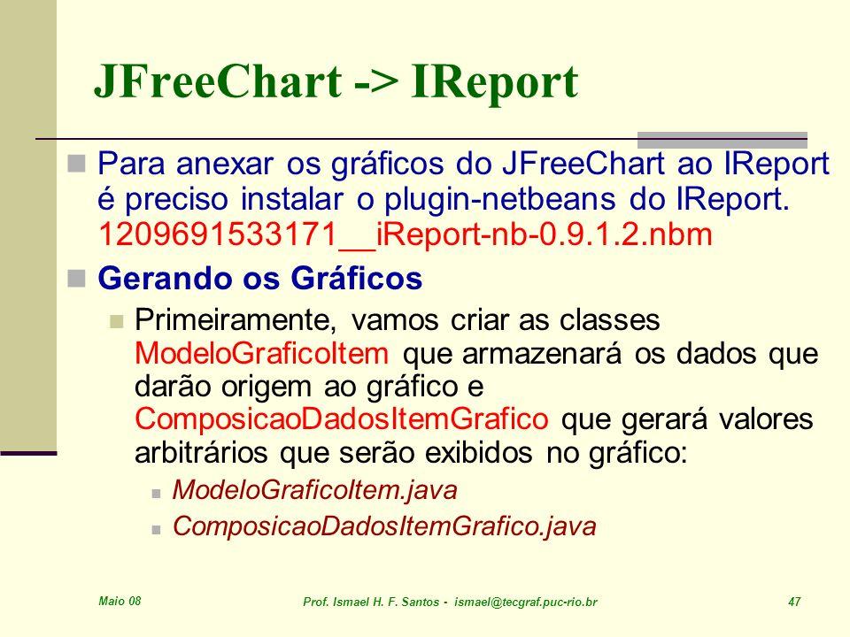 JFreeChart -> IReport