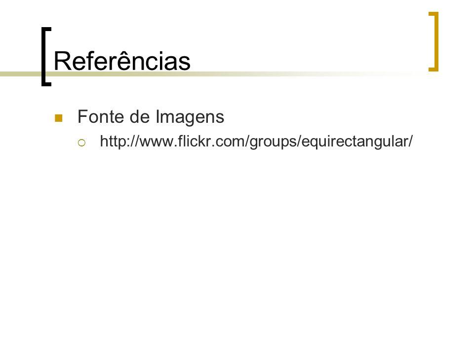 Referências Fonte de Imagens