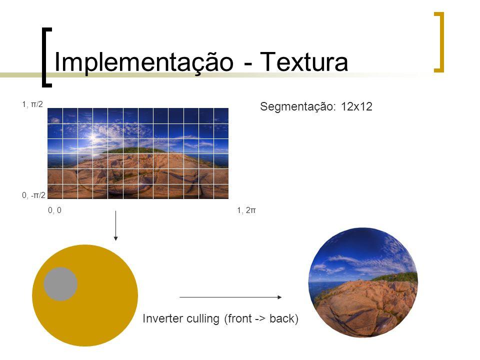 Implementação - Textura