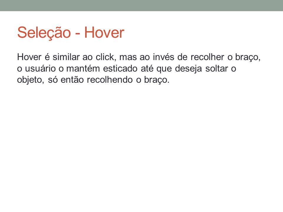 Seleção - Hover