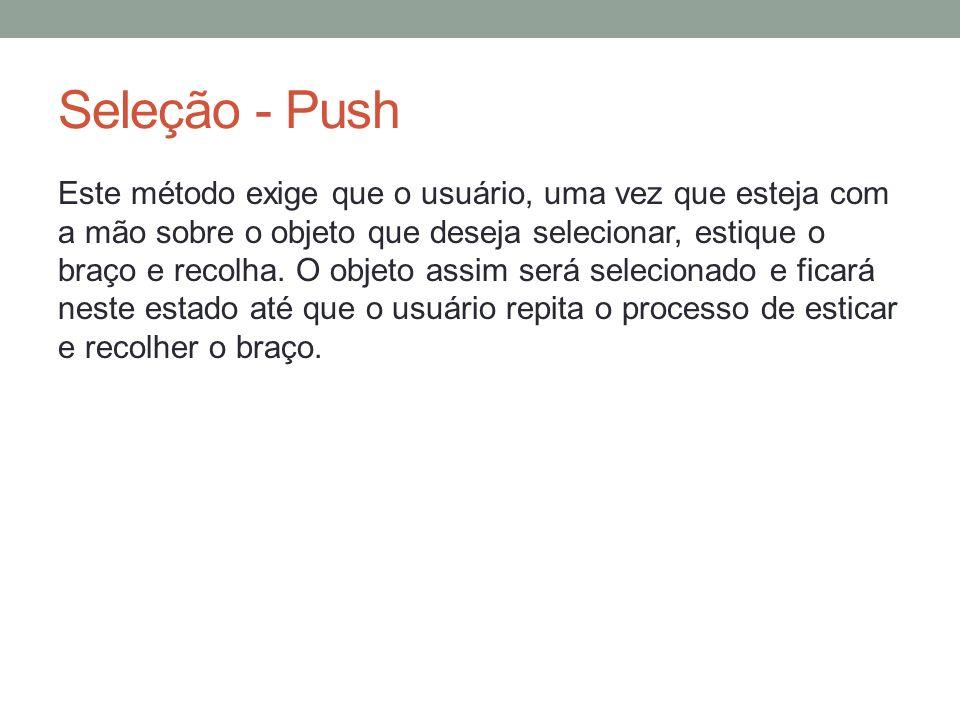 Seleção - Push