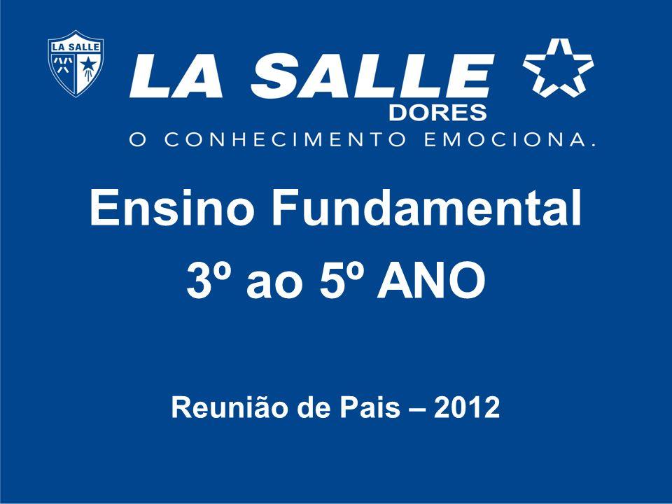 Ensino Fundamental 3º ao 5º ANO