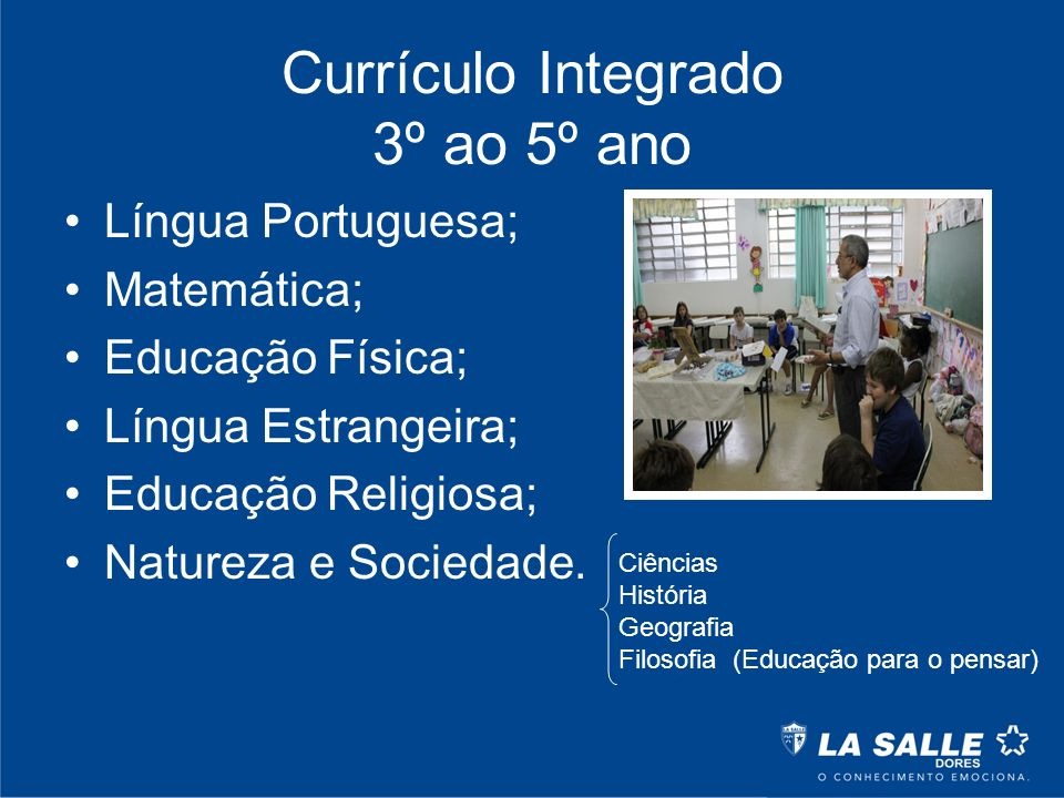 Currículo Integrado 3º ao 5º ano