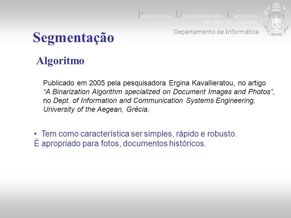 Departamento de Informática
