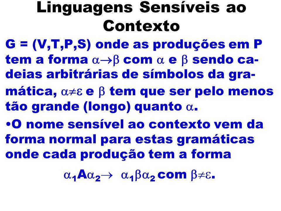 Linguagens Sensíveis ao Contexto